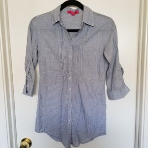 Almost Famous Junior Striped Shirt